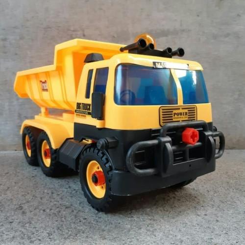 Foto Produk Mainan Truk Pasir Jumbo Bonus Obeng Kunci Pas - Dump Truck Besar Anak dari balqis jual online