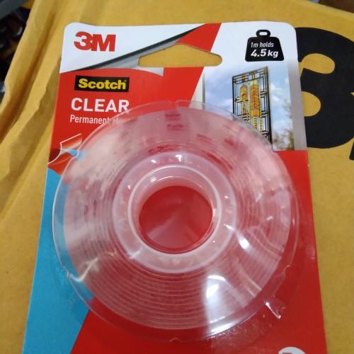 Foto Produk Double Tape 3M Scotch Original USA Clear Mounting Tape 4010C - CLEAR dari Dunia Tape