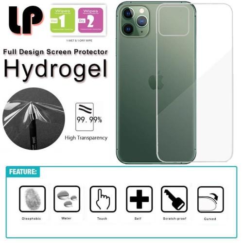 Foto Produk LP Hydrogel Back Guard iPhone 11 Pro Max - 6.5 Antigores Anti Gores dari Logay Accessories