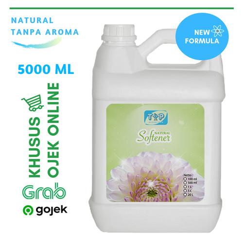 Foto Produk KHUSUS GOSEND/GRAB Softener Laundry Non Parfume Jerigen 5 Liter dari TOP SABUN INDO