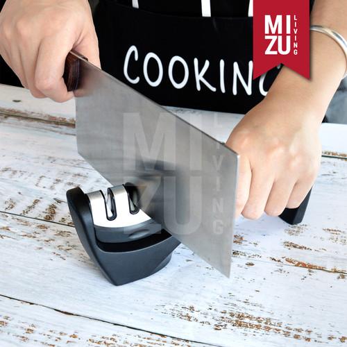 Foto Produk SHAPU-ICHI Triple Head Knife Sharpener Alat Pengasah Pisau Gunting dari MIZU Living