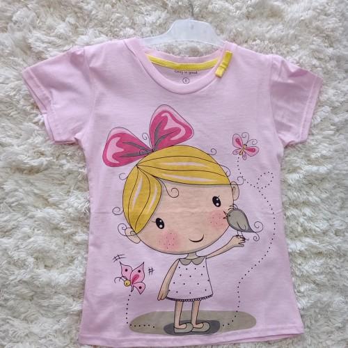 Foto Produk kaos anak perempuan pink 131 dari anak mama lpg