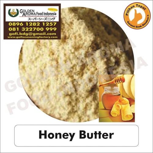 Foto Produk Bumbu Tabur Honey Butter 1 Kg Bubuk Tabur Mentega Madu Powder GAFI dari Pensil hb Asli Merk 2