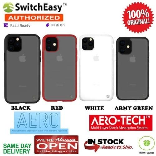 Foto Produk iPhone 11 / 11 Pro / 11 Pro Max Case Switcheasy AERO Ultra Light - White, iPhone 11 Pro dari Primary Original