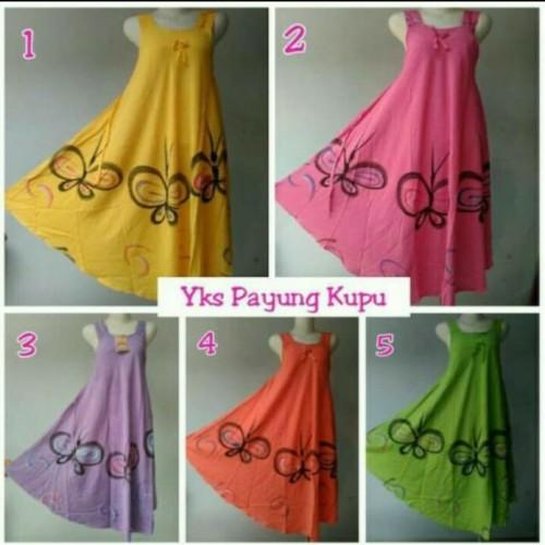 Foto Produk Daster Yukensi Kupu Cantik/Baju tidur dewasa/Baju hamil dari Brantandari Shop