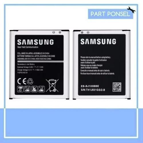 Foto Produk Baterai Samsung Galaxy J1 J100 2015 Original Batre Batrai ori dari Partponsel