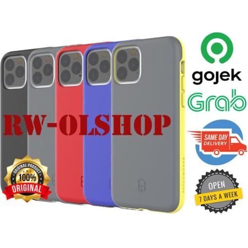 Foto Produk Iphone 11 Pro / Iphone 11 Pro Max Casing - Patchworks Level ITG case - Yellow, Iphone 11ProMax dari RW-OLShop