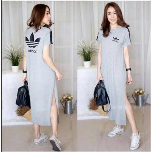 Foto Produk BAJU WANITA LONG DRESS LIA murah baju dress wanita dari Shalimcollection99