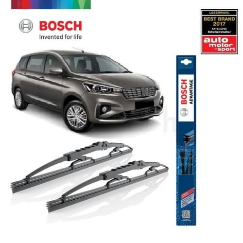 Foto Produk Wiper Mobil Suzuki Ertiga Sepasang Bosch Advantage dari BOSCH Automotive