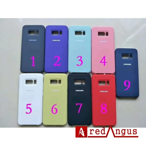 Foto Produk Silicone Cover Samsung Galaxy S8 Original Silikon softcase soft case dari redangus
