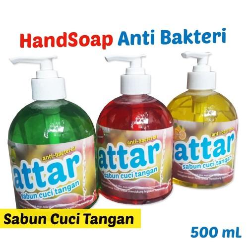 Foto Produk HANDSOAP - Sabun Cuci Tangan Anti Bakteri Botol Pump 500 mL - Apel dari Tasneem