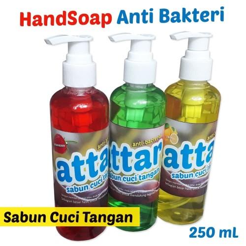 Foto Produk HANDSOAP - Sabun Cuci Tangan Anti Bakteri Botol Pump 250 mL dari Tasneem