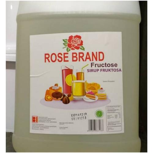 Foto Produk Gula Cair Rosebrand 5kg / Gula Fructose Rose Brand (Gojek/Grab Only!) dari OmahBagoes