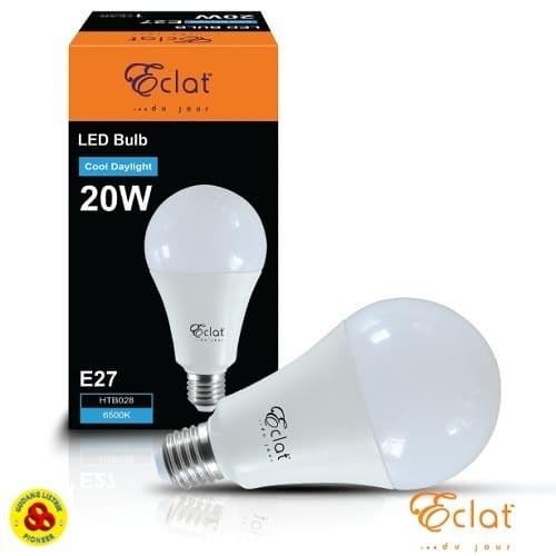 Foto Produk Eclat LED Bulb 20W Putih E27 Bohlam Lampu LED 20 Watt CDL 220V dari Gudang Listrik