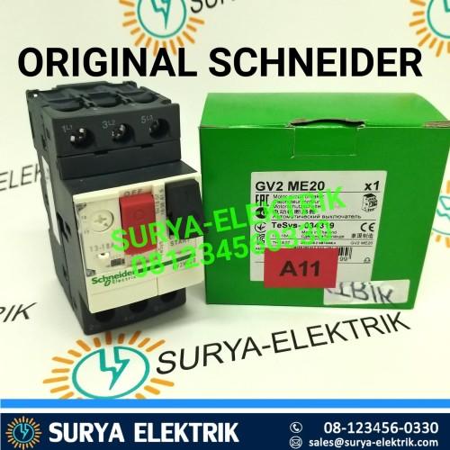 Foto Produk MOTOR CIRCUIT BREAKER SCHNEIDER GV2ME20 7.5KW 7.5 KW GV2ME 20 GV2 ME20 dari SURYA-ELEKTRIK