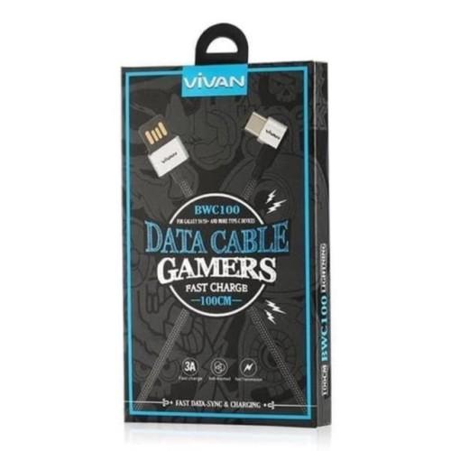 Foto Produk Vivan BWC100 Type C 1m data Cable gamers dari Clarias Shop