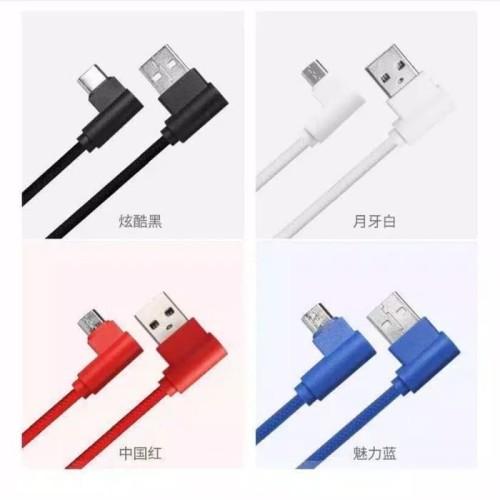 Foto Produk Kabel Data Charger Gaming L Micro USB Android 1Meter Murah Fast dari Y42N.ACC