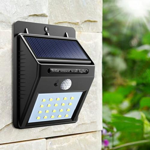 Foto Produk Lampu Taman Tembok Dinding Sensor Solar Tenaga Matahari Surya Outdoor dari Y42N.ACC