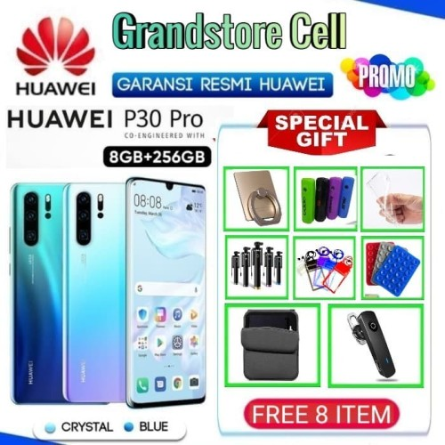 Foto Produk HUAWEI P30 PRO RAM 8/256GB GARANSI RESMI HUAWEI INDONESIA - Demo Tanpa Dus dari Grandstore cell