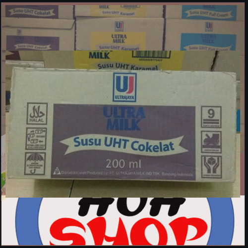 Foto Produk susu ultra rasa coklat 200 ml dari HohShop