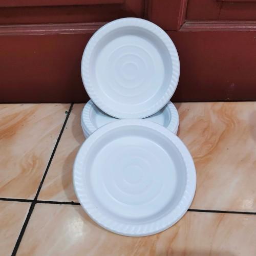 Foto Produk Piring plastik P6 (isi50pcs) - Piring plastik kecil - Piring kue dari Gemilang 888