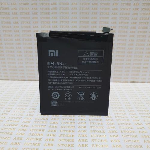 Foto Produk Batre Battery Xiaomi Redmi Note 4 - Note 4x Mediatek BN41 Origina 100% dari ABK STORE