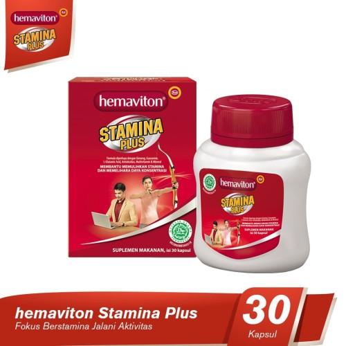 Foto Produk Hemaviton Stamina Plus Multivitamin Botol [30 kapsul] dari Tempo Store Official