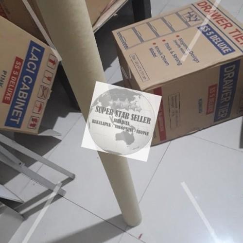 Foto Produk KARDUS ROLL Panjang 160 cm D4.5 cm GULUNG CUBE BULAT UNTUK PACKING dari SUPER STAR SELLER