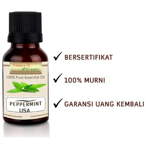 Foto Produk Happy Green USA Peppermint Essential Oil 10 ml- Peppermint Origin USA dari Happy Green Garden - JKT