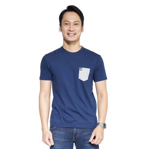 Foto Produk Zatta Men Allen T-Shirt - Navy, S dari Zatta Men Official
