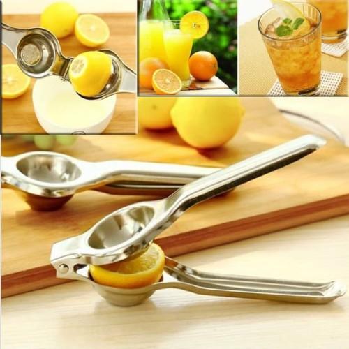 Foto Produk Perasan Lemon / Pesaran Jeruk / Alat Pemeras Stainless Steel dari dfanccie house