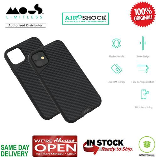 Foto Produk iPhone 11 / 11 Pro / 11 Pro Max Case Original Mous AraMax (RealCarbon) - iPhone 11 dari Spigen Indonesia