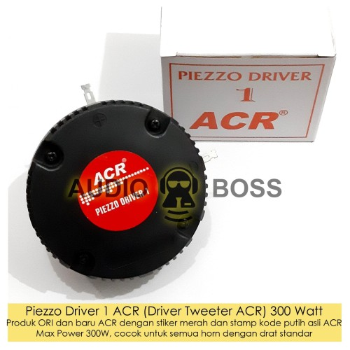 Foto Produk Driver ACR / Piezzo Driver 1 ACR / Driver Tweeter 300W / Driver Horn T dari Audio Boss