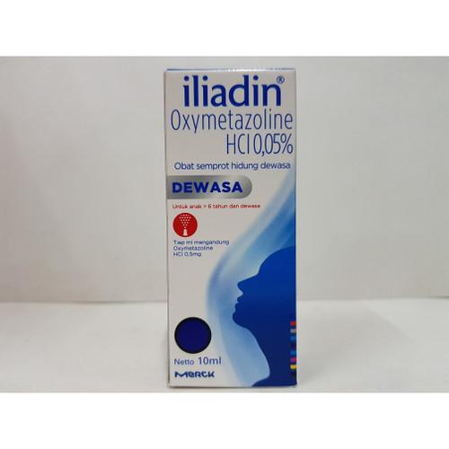 Foto Produk Iliadin 0.05% obat semprot hidung dewasa isi 10 ml dari WellyPlatinum