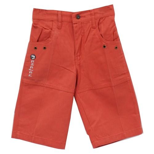 Foto Produk Natawa Celana Anak Junior Pendek Polos Orange 01 - 11-12 tahun, Merah dari Natawa Official Store