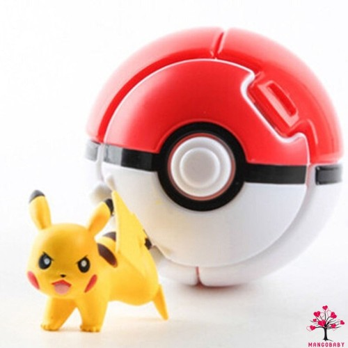 Foto Produk MBY Mainan Bola Pokeball Melambung Otomatis Pokemon untuk Anak dari Random Shop B