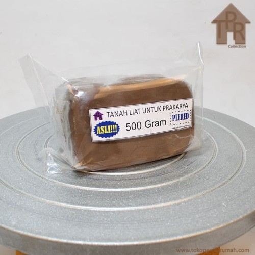 Foto Produk Tanah liat kualitas terbaik untuk prakarya / 500 gram - Plered. dari Toko Pernik Rumah