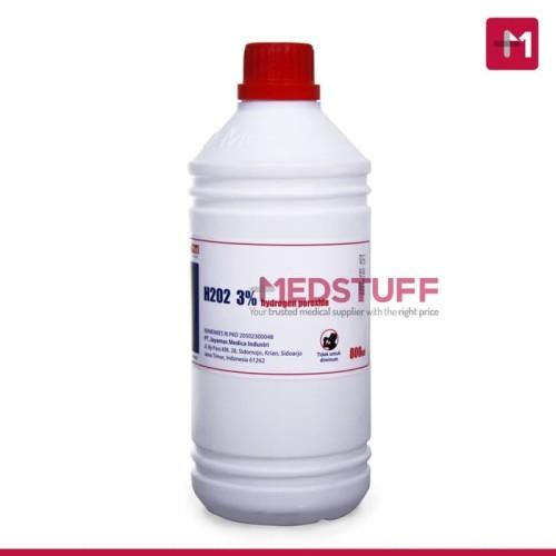 Foto Produk Hidrogen Peroksida H2O2 Hydrogen Peroxide 3 800Ml Promo dari maura fam