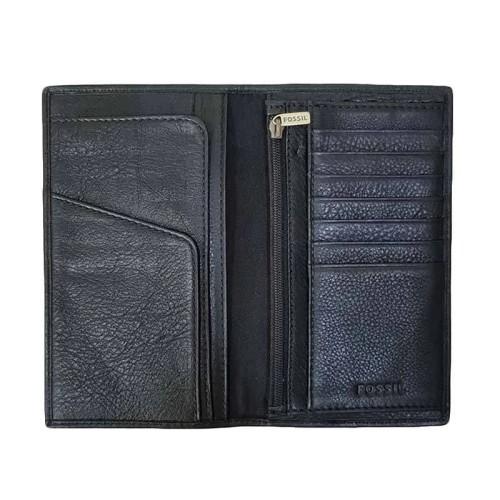 Foto Produk Fossil Lufkin Slim Long Wallet Executive Men Dompet Pria - Black dari YakinBeliShop