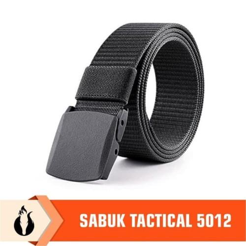 Foto Produk Ikat Pinggang Taktis 5012/ Sabuk Gesper Tactical Belt Import - Cokelat dari Matougui Outdoor Sport