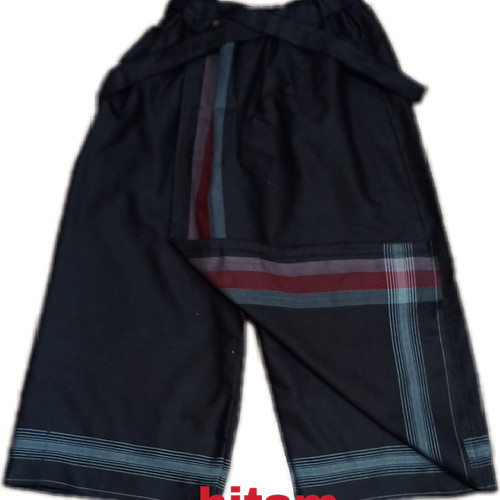 Foto Produk sarung celana anak 5-12tahun - Hitam, 5-6 tahun dari wifa collection tsm