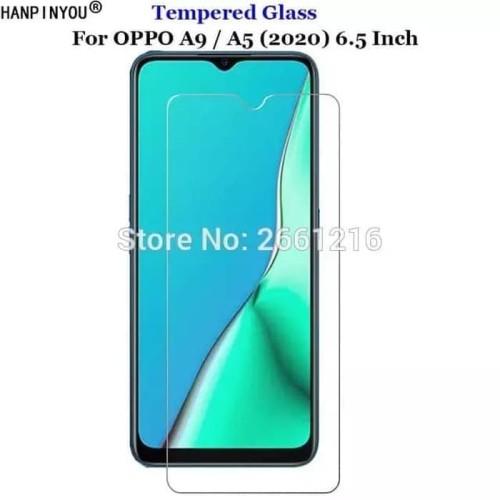 Foto Produk Oppo A5 2020 / A9 2020 Tempered Glass 2.5D Anti Gores Kaca dari factory acc