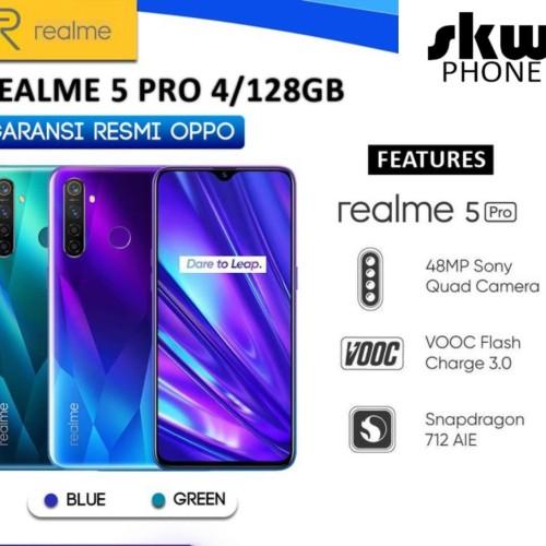 Foto Produk Realme 5 Pro 4/128 GB GARANSI RESMI - Biru dari SKW PHONE