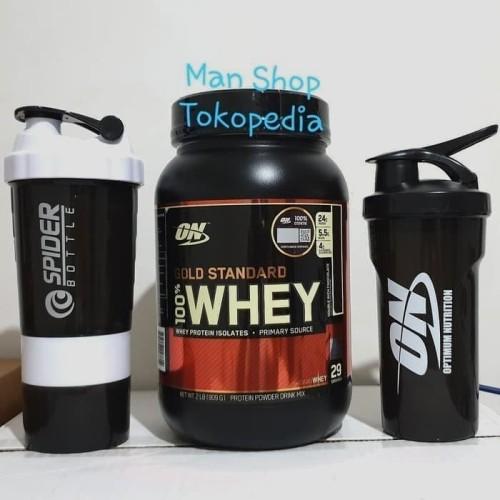 Foto Produk ON WGS / ON Whey Gold Standard 2Lbs 2 Lbs 2Lb 2 Lb Optimum Nutrition dari Man Shop jakarta