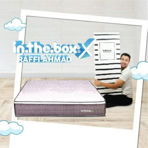 Foto Produk SPRING BED inthebox X size 160x200x27 Queen KASUR IN THE BOX dari metha colektion