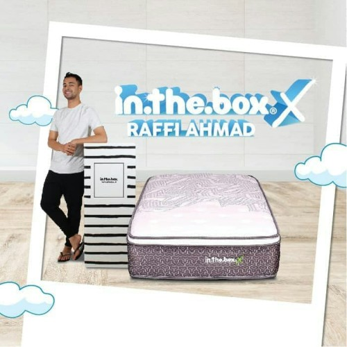Foto Produk SPRING BED inthebox X size 90x200x27 Single KASUR IN THE BOX dari metha colektion