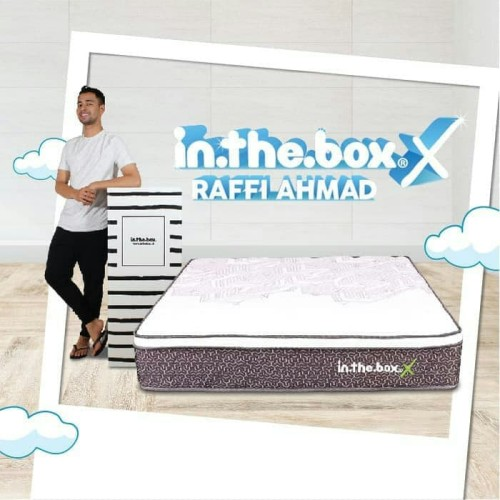 Foto Produk SPRING BED inthebox X size 200x200x27 Super King KASUR IN THE BOX dari metha colektion