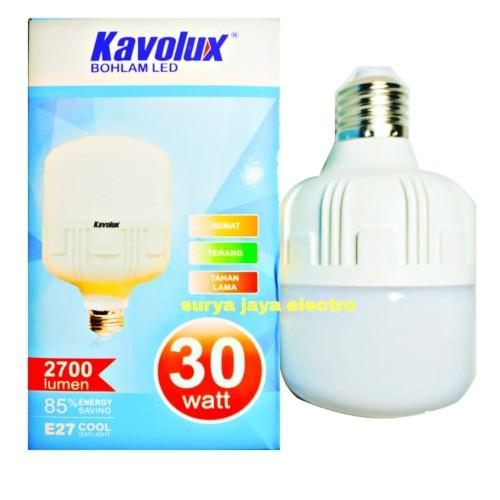 Foto Produk Lampu LED Bebas markuri blub kapsul white 30 watt termurah n terang dari surya jaya electro