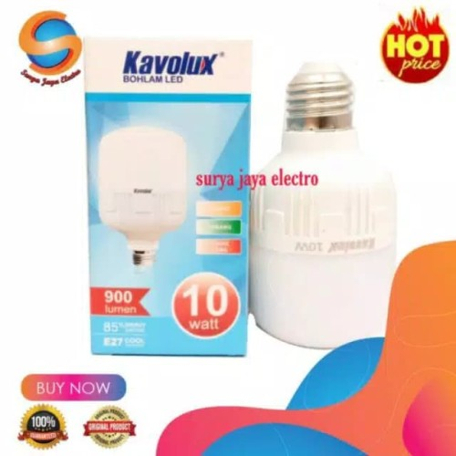 Foto Produk Lampu LED bebas merkuri blup kapsul white 10 watt termurah n terang dari surya jaya electro