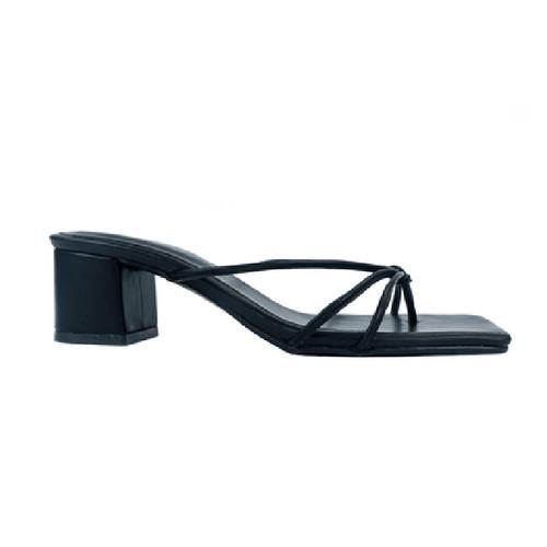 Foto Produk Heels Wanita Coco Heels Black - 37 dari Nakedsol